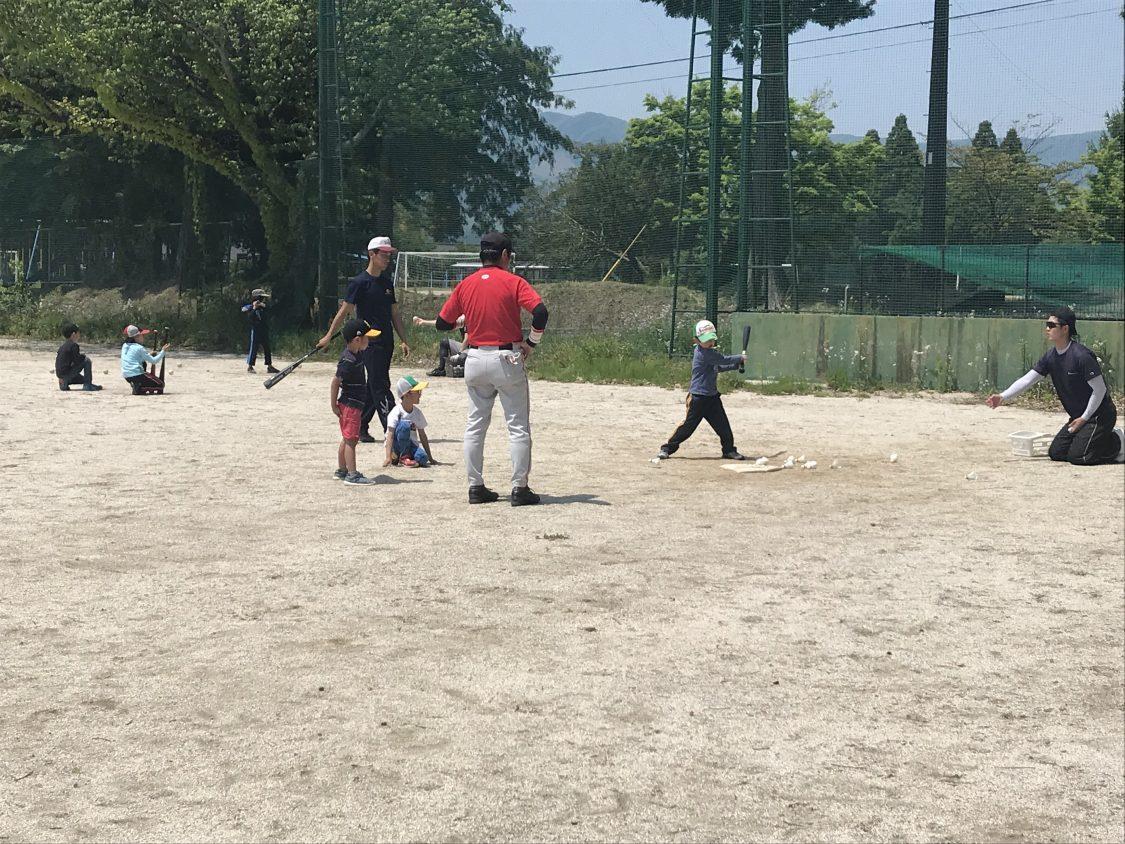 学童軟式野球教室